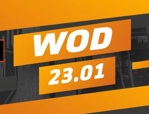 Workout quinta-feira 23/01/2020