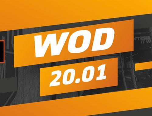 Workout segunda-feira 20/01/2020
